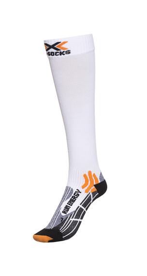 X-Socks Run Energizer Long Skarpetki do biegania biały